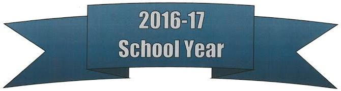 2016-17 school year banner