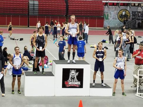 Blake podium