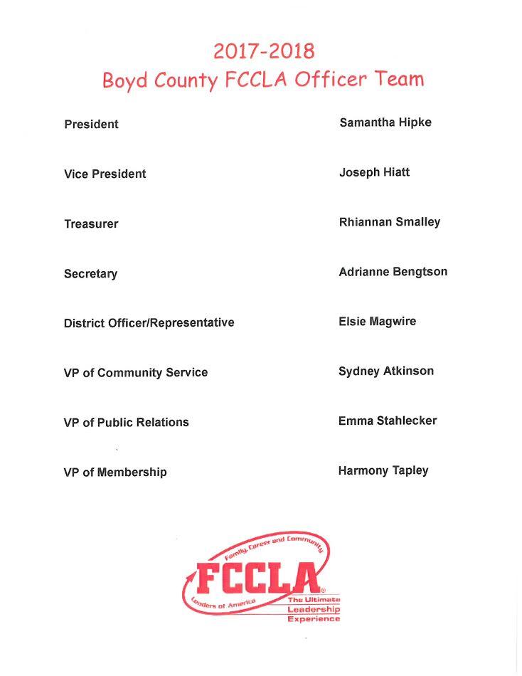 Officer list