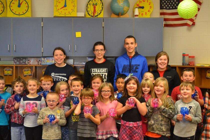 1st grade piggy banks